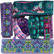 Tula Pink Spirit Animal Woven Ribbon Designer Assortment by Tula Pink - Ribbons
