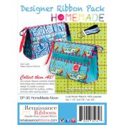 Tula Pink Home Made Noon Designer Ribbon Pack by Renaissance Ribbons - Ribbon