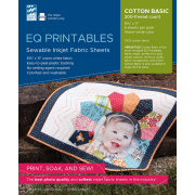 EQ Printable Cotton Inkjet Fabric Sheets (6) by Electric Quilt - Inkjet Fabric Sheets