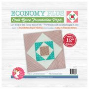 Economy PLUS Quilt Block 12in Foundation Paper Pad by Lori Holt by It's Sew Emma Foundation Papers - OzQuilts