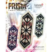 Prism Table Runner Pattern & Foundation Papers by Quiltworx by Quiltworx - Patterns & Foundation Papers