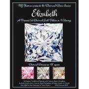 Elizabeth Princess Cut Diamond Quilt Pattern & Freezer Paper Templates by  Patterns & Foundation Papers - OzQuilts