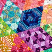 Nebula Block of the Month Quilt - Book Only by Jaybird Quilts - Quilt Patterns