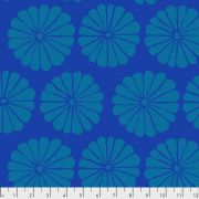 Damask Flower - Blue by The Kaffe Fassett Collective February 2021 Release - OzQuilts
