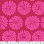 Damask Flower - Magenta by The Kaffe Fassett Collective February 2021 Release - OzQuilts