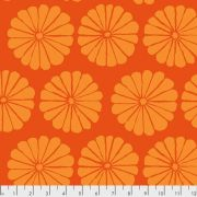 Damask Flower - Orange by The Kaffe Fassett Collective February 2021 Release - OzQuilts