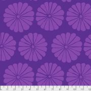 Damask Flower - Purple by The Kaffe Fassett Collective February 2021 Release - OzQuilts