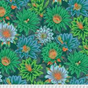 Cactus Flower - Green by The Kaffe Fassett Collective - Cactus Flower