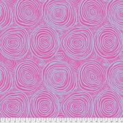 """Pink Onion Rings 108"""" Wideback by The Kaffe Fassett Collective - Onion Rings Quilt Backing"""