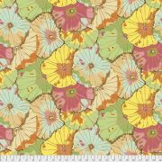"""Jade Lotus Leaf 108"""" Wideback by The Kaffe Fassett Collective - Lotus Leaf Quilt Backing"""