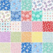 Everything But The Kitchen Sink 15 Fat  - 22 Fat Quarter Bundle by  - Fat Quarter Packs