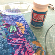 Fabric Mod Podge 8oz -waterbased sealer, glue and finish by  - Glue