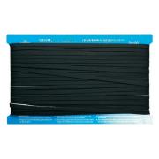 Iron-On Bias Tape Black 50 Metre Roll by Matilda's Own - Bias Tape
