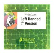 "Matildas Own Left Handed 6.5"" x 6.5"" Square Ruler by  Left Handed Rulers - OzQuilts"