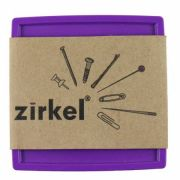 Zirkel Magnetic Pin Cushion - Purple by Zirkel Organisers for Pins - OzQuilts