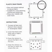 """Sew Easy Quilting & Embroidery Frame 11"""" Square (27.9cm) by Sew Easy - Hoops & Frames"""
