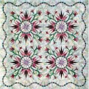 Cactus Rose Pattern by Quiltworx Judy Niemeyer Quiltworx - OzQuilts