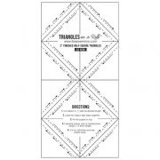 """2"""" Half Square Triangles on a Roll by It's Sew Emma - Pre-printed Triangle Papers"""