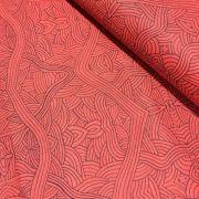 Aboriginal Art Fabric 5 Fat Quarter Bundle - Brown/Red Colourway by M & S Textiles Fat Quarter Packs - OzQuilts