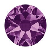 Swarovski Hotfix Flatback Crystals Amethyst SS34 by Swarovski - Stone Size SS34 (7mm)