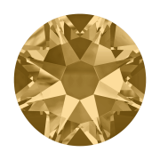 Swarovski Hotfix Flatback Crystals Light Colorado Topaz SS34 by Swarovski - Stone Size SS34 (7mm)