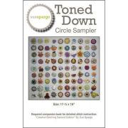Toned-Down Circle Sampler Pattern by Sue Spargo by Sue Spargo - Sue Spargo
