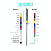 Schmetz Denim/Jeans Machine Needle Size 90/14 by Schmetz - Sewing Machines Needles