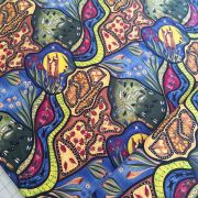 Bambillah Australian Aboriginal Art Fabric by Nambooka- Wideback 150cm wide x 2 metres by M & S Textiles - Wide Quilt Backs