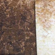 Java Fusion Batik Brown to Light Tan Ombre Batik Watercolor Blender By Fresh Water Designs by Hoffman - Batik