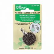 Clover Thread Cutter Pendant - Antique Silver by Clover - Needle Threaders & Cutters