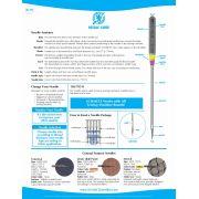 Schmetz Sharp Microtex Machine Needles Size 60/70/80 by Schmetz - Sewing Machines Needles