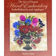 The Art of Elegant Hand Embroidery Embellishment and Applique by  - Applique