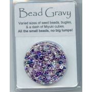 Bead Gravy Blackberry Violet by Hofmann Originals - Beads