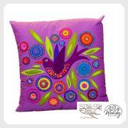 Flying Bird Cushion Pattern by Wendy Williams by Wendy Williams of Flying FIsh Kits - Wendy Williams