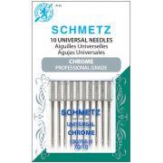 Chrome Universal Schmetz Needles Size 70/10 - 10 Needle Pack by Schmetz - Sewing Machines Needles