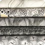 Aboriginal Art Fabric 20 Fat Quarter Bundle S by M & S Textiles Fat Quarter Packs - OzQuilts