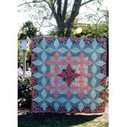 The Lattice Star Quilt Pattern, by Carolina Moore by Cut Loose Press Patterns - Cut Loose Press Patterns
