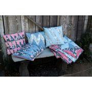 Half Rectangle Pillows Pattern, by Carolina Moore by Cut Loose Press Patterns - Cut Loose Press Patterns