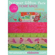 Tula Pink Home Made Morning Designer Ribbon Pack by Renaissance Ribbons - Ribbon