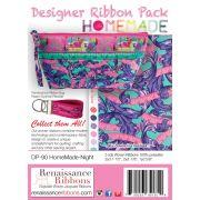 Tula Pink Home Made Night Designer Ribbon Pack by Renaissance Ribbons - Ribbon