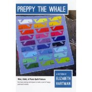 Preppy The Whale Quilt Pattern by Elizabeth Hartman by Elizabeth Hartman - Elizabeth Hartman