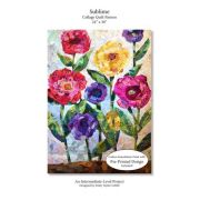 Sublime Collage Quilt Pattern, by Emily Taylor by Collage Quilter - Collage