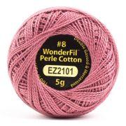 Wonderfil Eleganza Alison Glass Auburn, (EL5G-2101) 8wt Cotton Thread 5g balls by Wonderfil Eleganza Perle 8 Balls Eleganza 8wt Alison Glass - OzQuilts