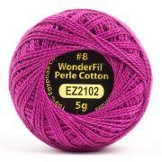 Wonderfil Eleganza Alison Glass Urchin, (EL5G-2102) 8wt Cotton Thread 5g balls by Wonderfil Eleganza Perle 8 Balls Eleganza 8wt Alison Glass - OzQuilts