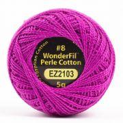 Wonderfil Eleganza Alison Glass Dahlia, (EL5G-2103) 8wt Cotton Thread 5g balls by Wonderfil Eleganza Perle 8 Balls Eleganza 8wt Alison Glass - OzQuilts