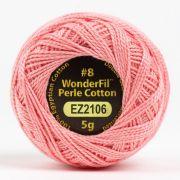 Wonderfil Eleganza Alison Glass Blush, (EL5G-2106) 8wt Cotton Thread 5g balls by Wonderfil Eleganza Perle 8 Balls Eleganza 8wt Alison Glass - OzQuilts