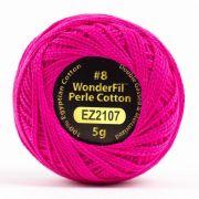 Wonderfil Eleganza Alison Glass Iodine, (EL5G-2107) 8wt Cotton Thread 5g balls by Wonderfil Eleganza Perle 8 Balls Eleganza 8wt Alison Glass - OzQuilts