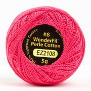 Wonderfil Eleganza Alison Glass Salmon, (EL5G-2108) 8wt Cotton Thread 5g balls by Wonderfil Eleganza Perle 8 Balls Eleganza 8wt Alison Glass - OzQuilts