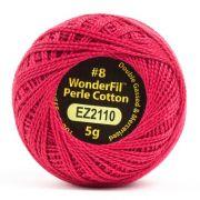 Wonderfil Eleganza Alison Glass Ruby, (EL5G-2110) 8wt Cotton Thread 5g balls by Wonderfil Eleganza Perle 8 Balls Eleganza 8wt Alison Glass - OzQuilts