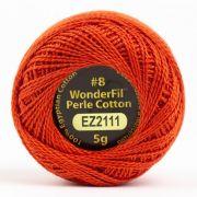 Wonderfil Eleganza Alison Glass Rocket, (EL5G-2111) 8wt Cotton Thread 5g balls by Wonderfil Eleganza Perle 8 Balls Eleganza 8wt Alison Glass - OzQuilts